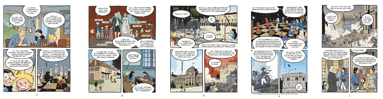 bd napoléon le fil de l'histoire