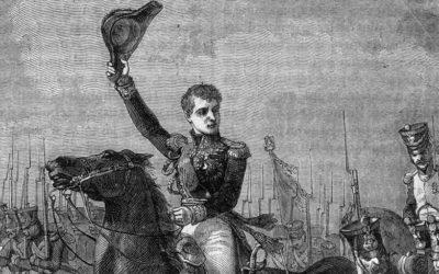 Général Gudin lors de la bataille de Valoutina Gora