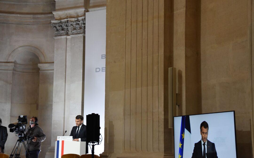 Discours Emmanuel Macron – 5 Mai 2021